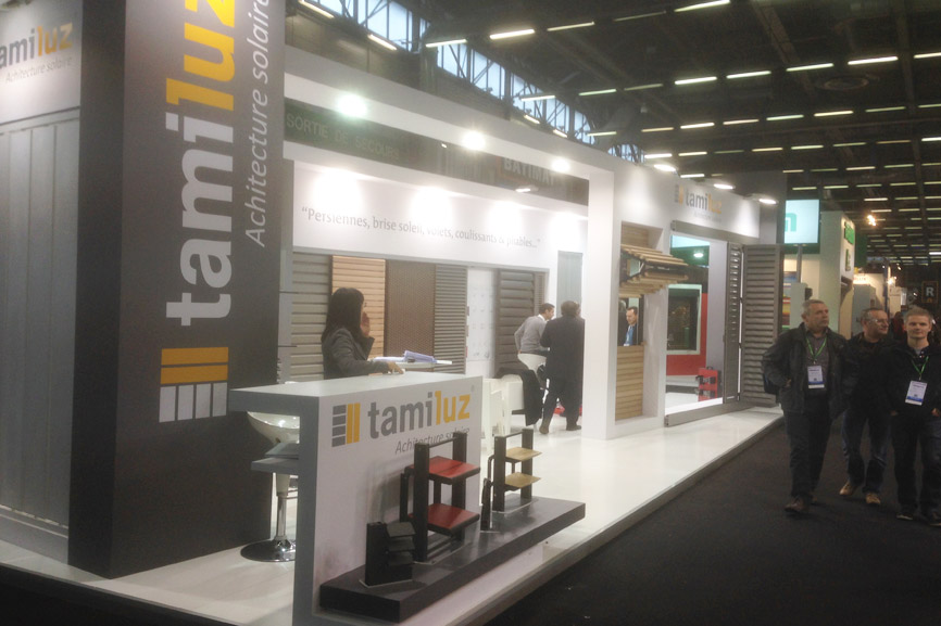 Tamiluz informations concernant des volets persiennes for Salon du batiment paris