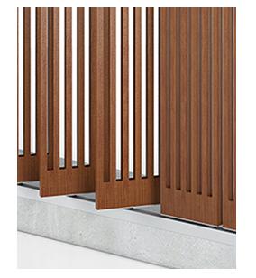 tamiluz brise soleil et brise vues de lames orientables bois brise soleil vues bois. Black Bedroom Furniture Sets. Home Design Ideas