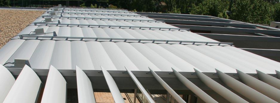 Tamiluz Brise Soleil Orientable Aluminium Et Brise Soleil Aluminium Orientable Lames En Profil